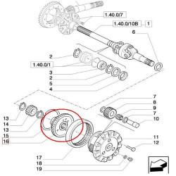 SKR9027 Synchronizator skrzyni biegów