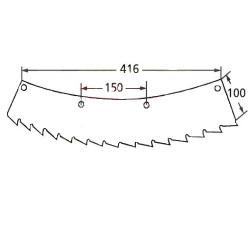 TRP1904 Rura łącznika 450mm