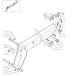 TRP4352 Czujnik położenia podnośnika FENDT G716861100021