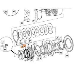 AKK7092 Podpora mocowania silnika lewa