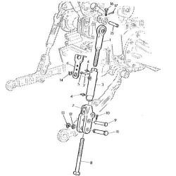 SKR2055 Uszczelka skrzyni biegów Case80SR NEw Holland LB