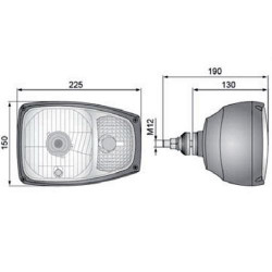 PON1402 Uszczelniacz trzpienia zwrotnicy 49x68x14mm