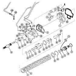 HAM1415 Płytka, hamulcowa, mechanizm rozpierak hamulca, ręcznego, case, 5120, 5130, 5140, 5150, 5220, 5230, 5240, 5250 mx80 mx90