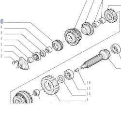 TRP1606 Główka łącznik Case Magnum 7110 7120 7130 7140 7210 7220, MX180, MX200, MX220, MX240, MX255, MX270, MX285,