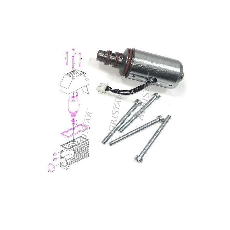 SCY4068 Kpl. pierścieni 3szt. 100mm silnik deutz 912