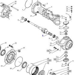 Tuleja cylindra silnika cummins Case magnum 7110, 7120, 7130, 7140, 7150, 7210, 7220, 7230, 7240, 7250,MX180,MX200,MX220, MX240