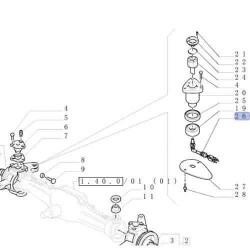 Filtr powietrza duży New Holland T8010, T8020, T8030, T8040, T8050 TG215, TG245, TG275, TG305 Case Magnum 225 250 280 310 MX 180
