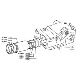 SUC5150 Pompa wodna, pompa wody John Deere Seria M, R, RE539092, SE502729
