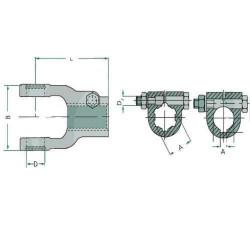 Pasek wielorowkowy wentylatora alternatora klimatyzacji Claas Deutz Fendt 922, 924, 927, 930, 933, 936 545954 545954.0 F93420104
