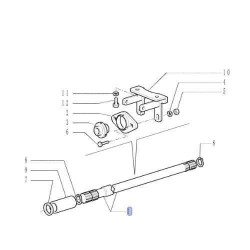 ELE1516 Lampa ostrzegwacza LED 12/24V
