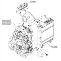 HYD2002 Rozdzielacz hydrauliczny Deutz Fahr 02940179