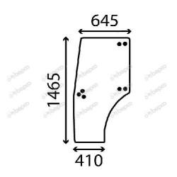 sworzeń 38mm Zaczep automatyczny SAUERMANN John Deere 6820, 6900, 6910, 6920 6630 6730 7230 7320 FENDT Case