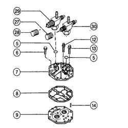 Linka hamulca ręcznego Case Magnum 7110, 7120, 7130, 7140, 7210, 7220, 7230, 7240, 7250 915 mm 1975287C1