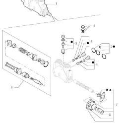 Uszczelniacz wału napędowego półosi Case Puma Flarmall Maxxum JX JXU New Holland TD TL 42x62x21,5mm