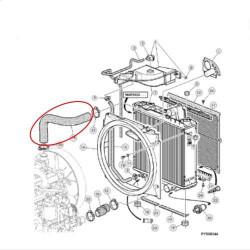 ELE7114 Cewka rewersu Case Maxxum Magnum