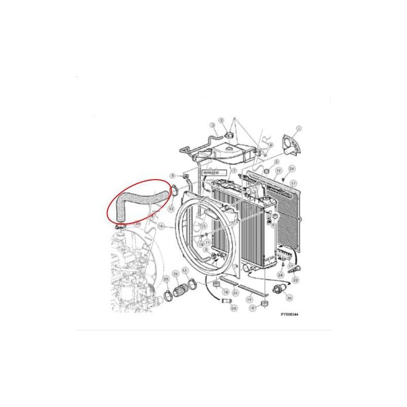 cewka elektrozawór rewersu Case 5120 5130 5140 5150 5220 5230 5240 5250 7210 7220 7240 7250 magnum wałka 349296A1 300aa00177a