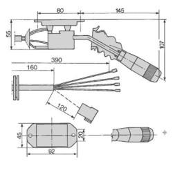 SUC8014 Wentylator chłodnicy Komatsu WB