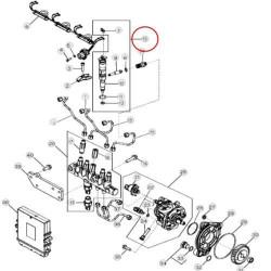 Tuleja silnika niehonowana 83998292 F0NN6055AA