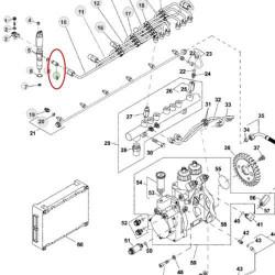 HYD1164 Pompa hydrauliczna 14ccm obroty lewe 0510525359, 5149231, 5167394, 5180275