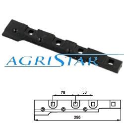 CH03-645830 Uchwyt palca ślimaka M16 - Ø 30 mm