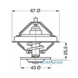 DH09-16021001 Tulejka blachy motowideł