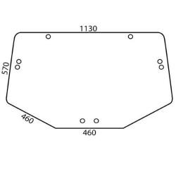 Końcówka kierownicza przegub drążek kierowniczy case 580sr 590sr new holland lb 90 100 110 115 555 575 85805977,85805976