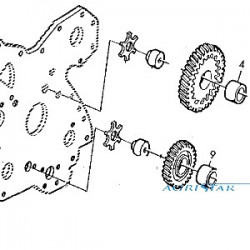 PON1801 Uszczelnienia zawieszenia przedniej osi 114.02mmx1.78mm
