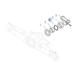 Zawór pneumatyczny hamulcowy przyczepy Wabco ciągnika Case John Deere Deutz New Holland Fendt Massey Ferguson Steyr Valtra