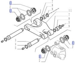 JS04-AZ10037 Panewka wytrząsaczy Fi-28mm