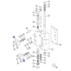 KOP7005 Adapter zęba łyżki ładowarkowej