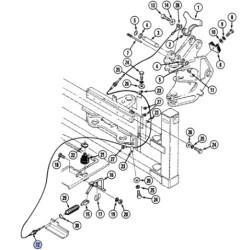 SUP3608 Nakrętka wtryskiwacza 3218388R1 Case