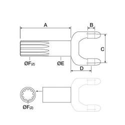 JM99-AZ40347 Uszczelniacz zaworu hydraulicznego