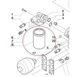 Łożysko górne zwrotnicy Case MX100 MX110 MX120 MX135 MX150 MX170 McCormic MTX110 MTX125, MTX135 claas renault ares ceres atles