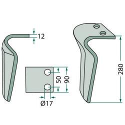 FHY1063 Filtr hydrauliki