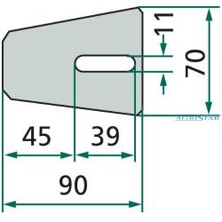 SWA2305 Zestaw panewek głównych 0,75