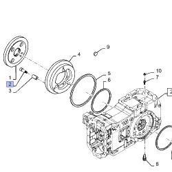 SUP7017 Złączka przewodów paliwowych