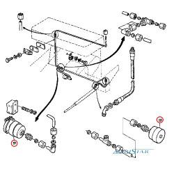 SUP1704 Zestaw naprawczy pompki paliwa