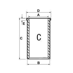 FHY2067 Filtr hydrauliki