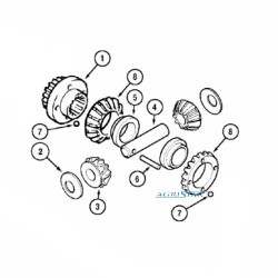 Filtr powietrza wkład zewnętrzny John Deere WTS STS CASE STX AH148880, AF25033M 1694039C1, 319468A1 AF1220 P533235