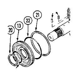 ELE1508 Lampa ostrzegawcza elestyczna na uchwyt