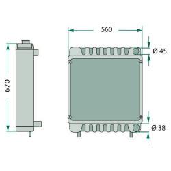 HYD7098 Uszczelniacz wałka pompy jazdy 49,2x68,3x12,7mm