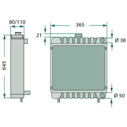 Tarcza cierna sprzęgła 133mm Valtra Valmet N163, X100, X110, 6250, N103 N91, N121 T131 6400, 6550, 6600 V32618700