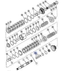 UKI1208 Przegub kierowniczy Case 1056, 1056XL, 856, 856XL, 956, 956XL