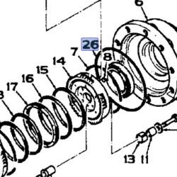 SUS1012 Zestaw uszczelek silnika kpl.