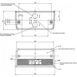 SUS2217 Uszczelka pokrywy zaworów McCormick: MTX120, MTX135, MTX150, MTX155, MTX175