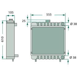 SUS2062 Uszczelka głowicy 1,25mm
