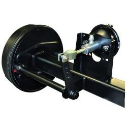 HAM9901 Siłownik hydrauliczno-pneumatyczny hamulca przyczepy 25mm