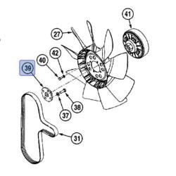 SUC2757 Flansza wisca wentylatora