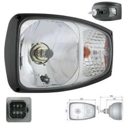 Reflektor Lampa drogowa przednia jazdy Terex  Fermec 840, 860, 890, 990