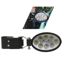 Halogen owal elipsa LED uchwyt boczny led 87343392 New Holland John Deere Massey Ferguson Fendt Case JCB Valtra
